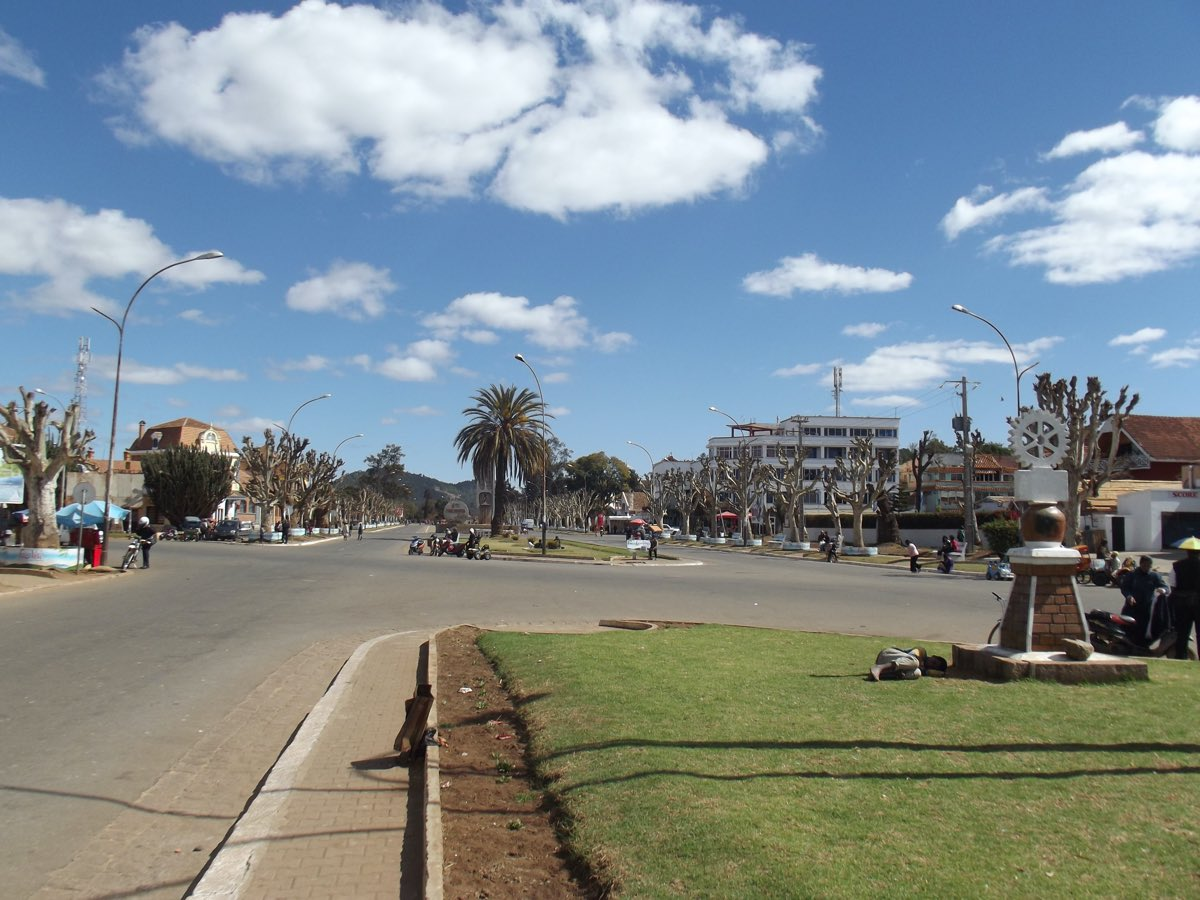 Les centres d'intérêt dans la ville d'Antsirabe I Aizawaiza